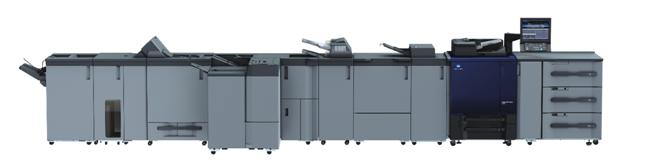 柯尼卡美能达彩色数码印刷机AccurioPress C3080