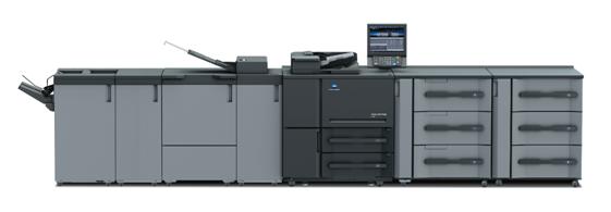柯尼卡美能达黑白数码印刷机AccurioPress 6136
