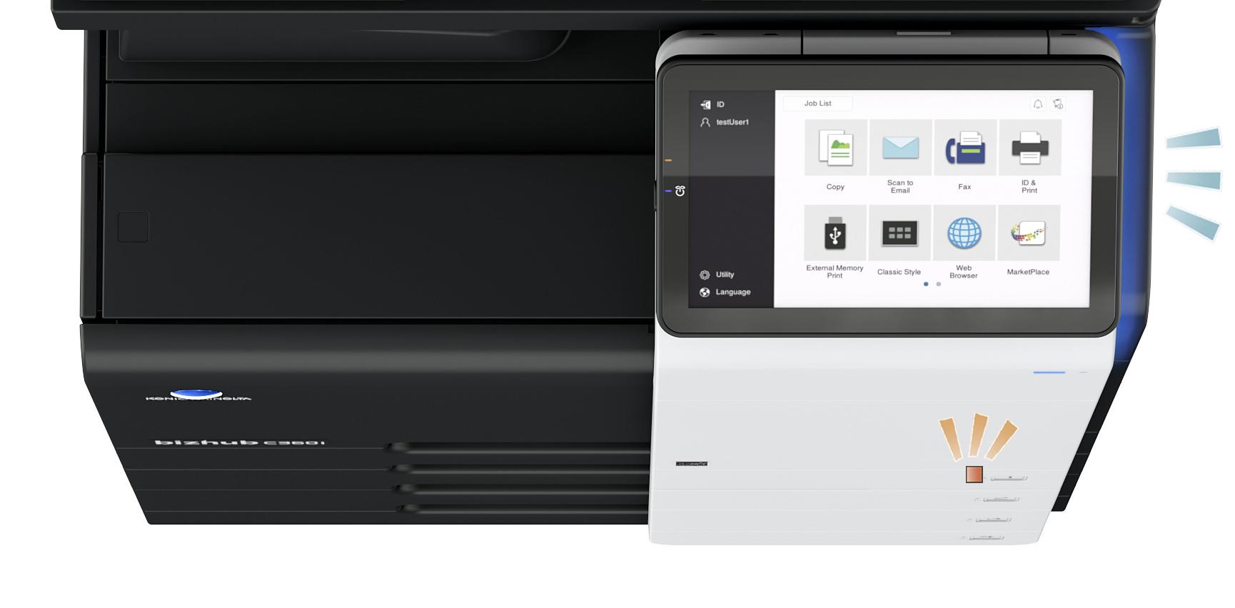 2-柯尼卡美能达全新bizhub C360i系列10.1英寸超大操作面板和LED灯光提示功能.jpg